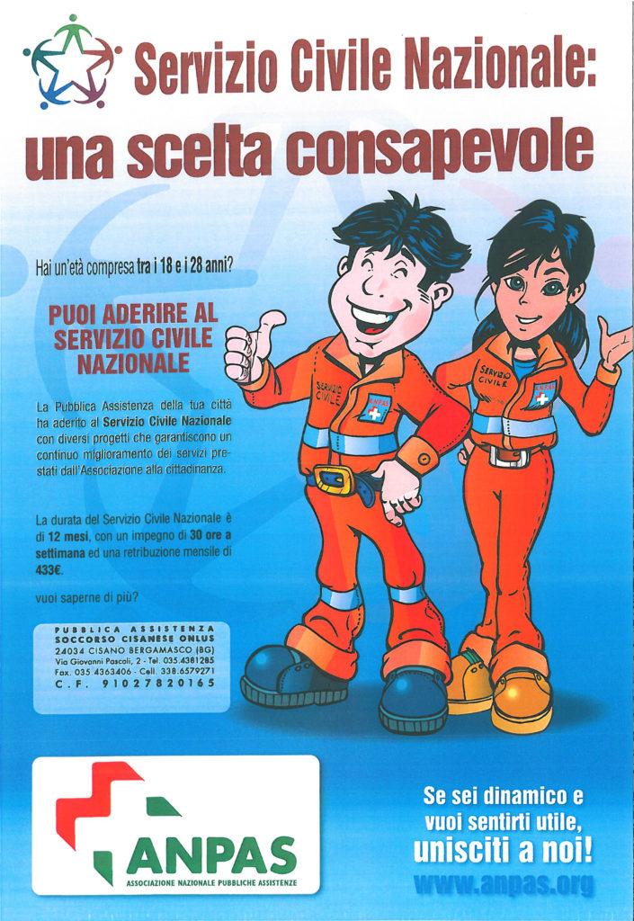 Servizio civile Soccorso Cisanese ANPAS